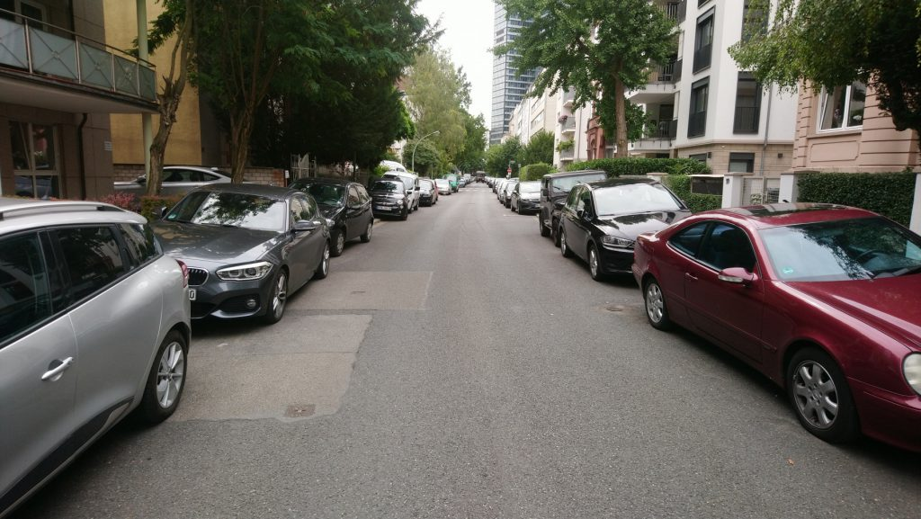 Straße in Frankfurt